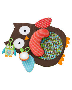 Treetop Friends Tummytime Baby Mat