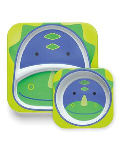 ZOO melamine plate & bowl set