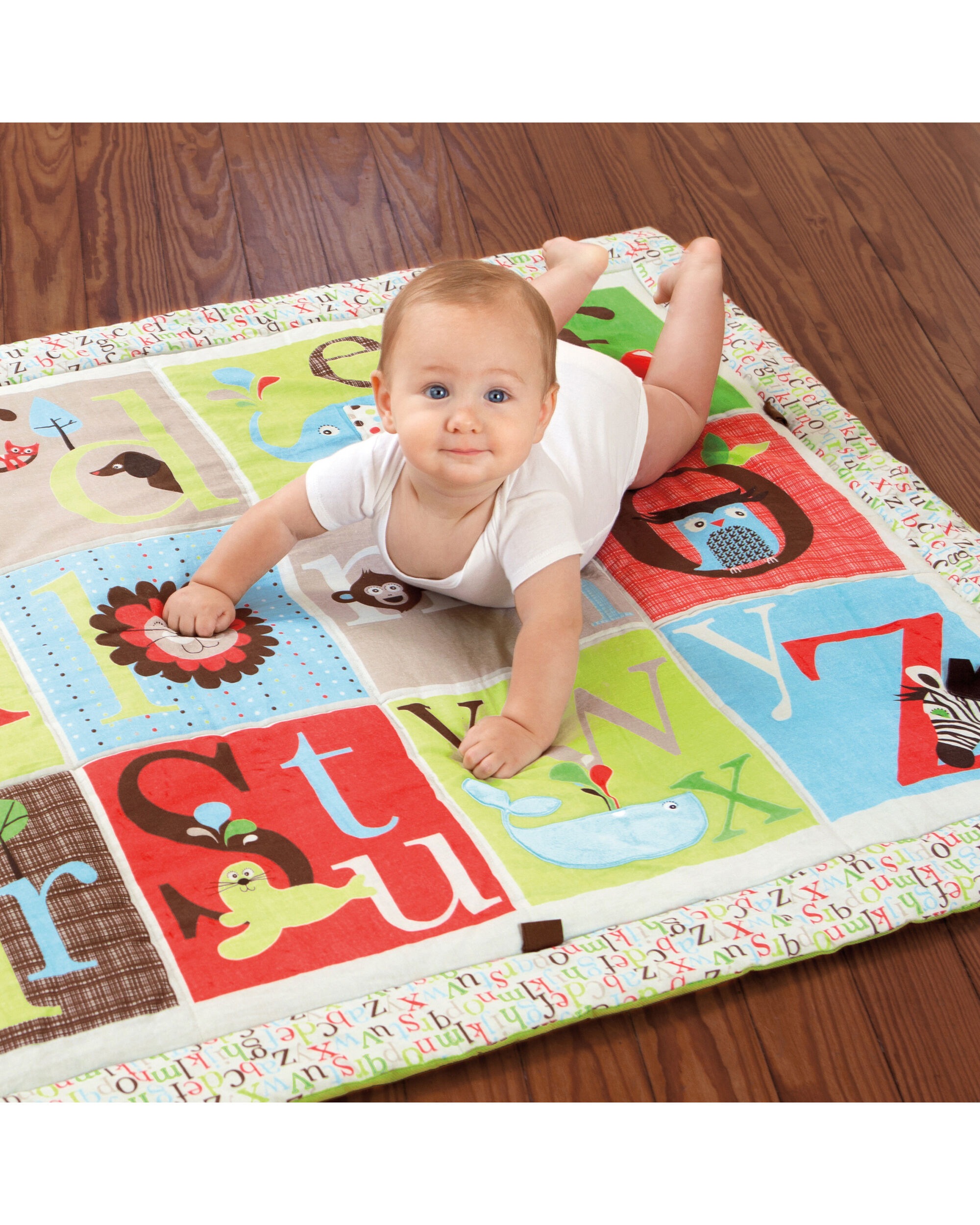 Alphabet Zoo Baby Mega Playmat