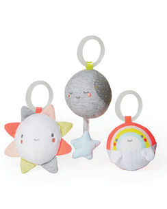 Silver Lining Cloud Ball Trio Baby Toy
