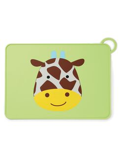 Zoo Fold & Go Silicone Kids Placemat