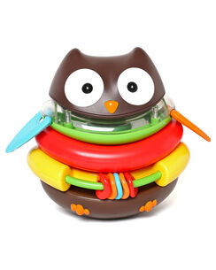 Explore & More Rocking Owl Stacker Toy