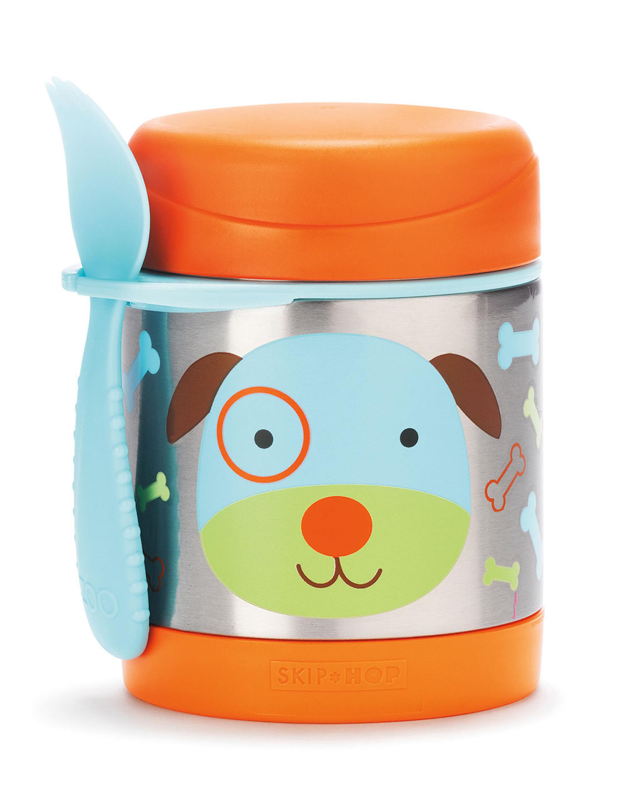 Meals In A Jar Zoo Insulated Little Kid Food Jar Skiphop Com