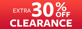 Extra 30% Off Clearance Flash Sale