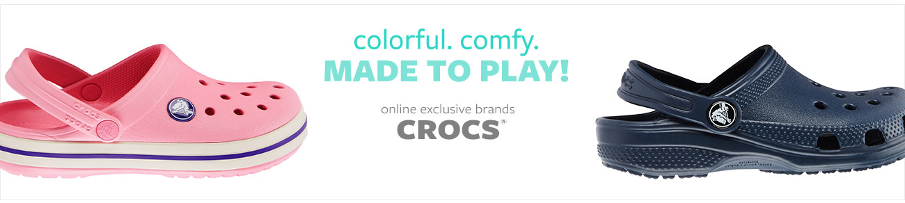 Online Exclusive Brands | Crocs | Made to Play