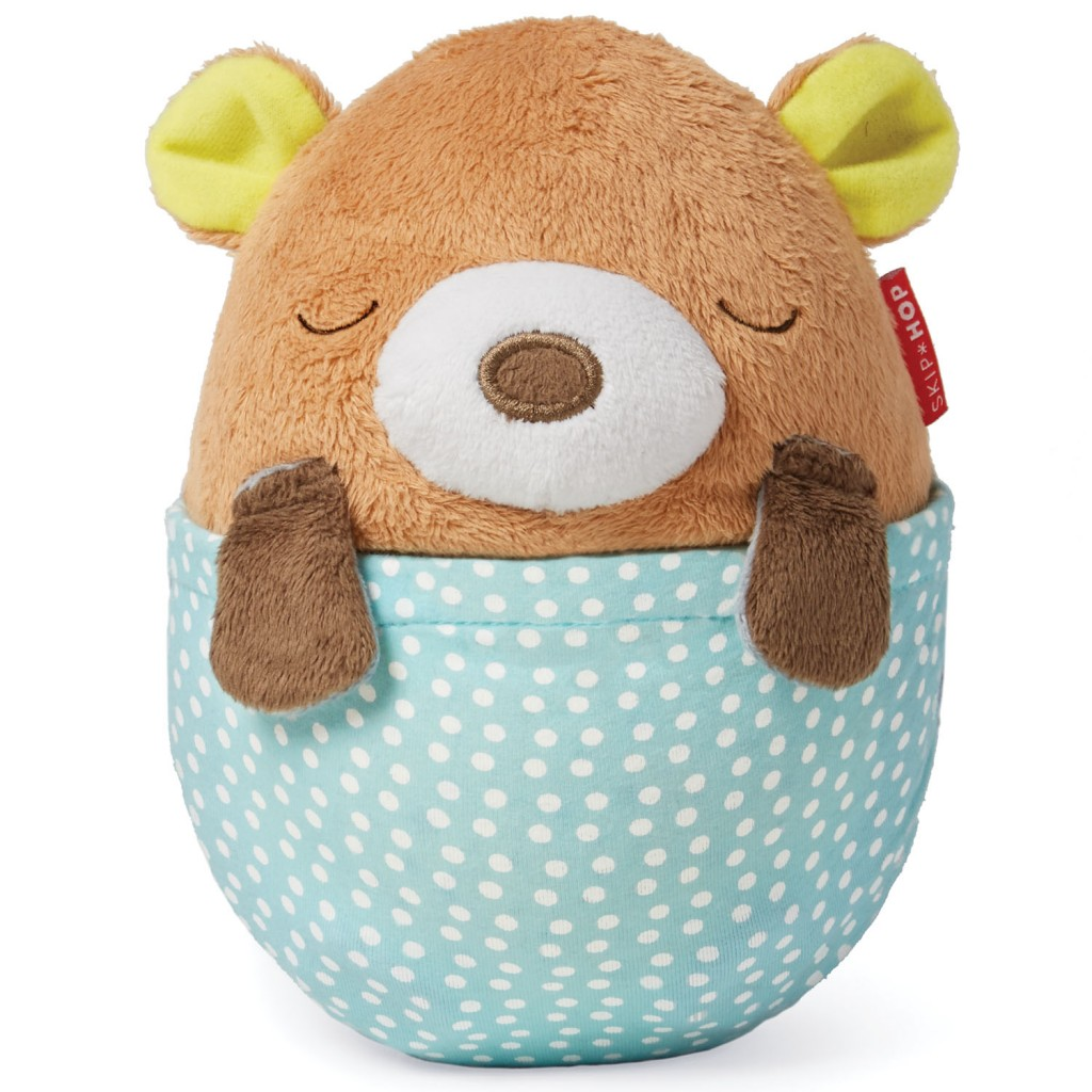Moonlight & Melodies Hug Me Projection Soother - Bear