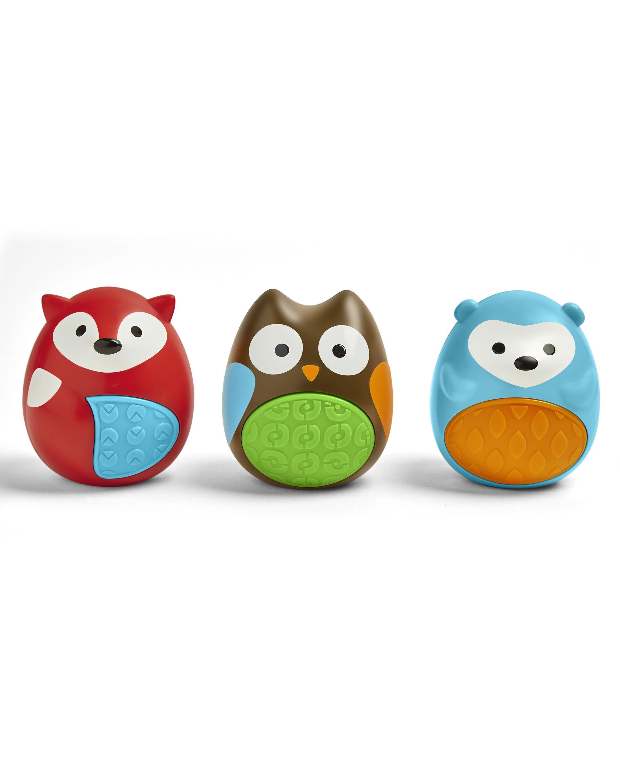 Explore & More Egg Shaker Baby Toy Trio