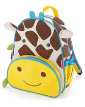 Zoo Little Kid Backpack, Giraffe, hi-res