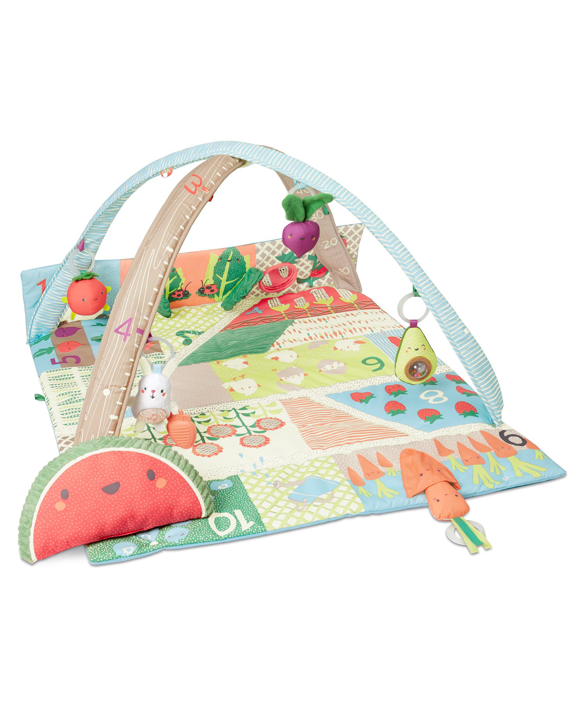 Mother & Kids Baby Frog Game Playmat Newborn Baby Gym Activity Playmat Crawling Game Mat Cartoon Floor Play Mat With Pillow Plush Toys