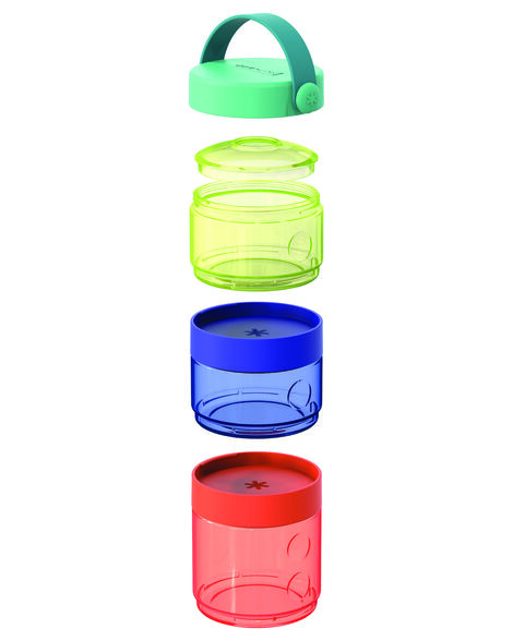 Grab & Go Baby Food Storage Tower