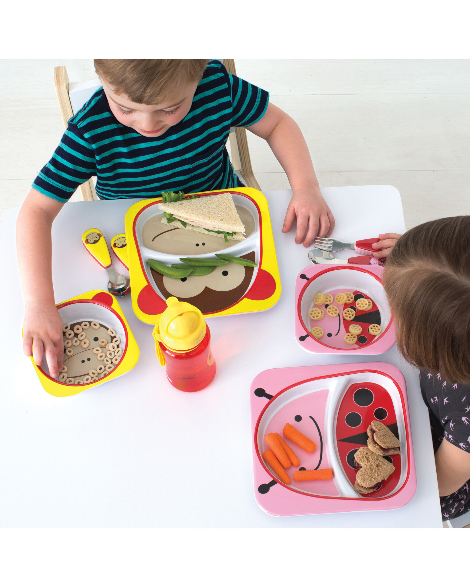 Zoo Melamine Plate Bowl Set