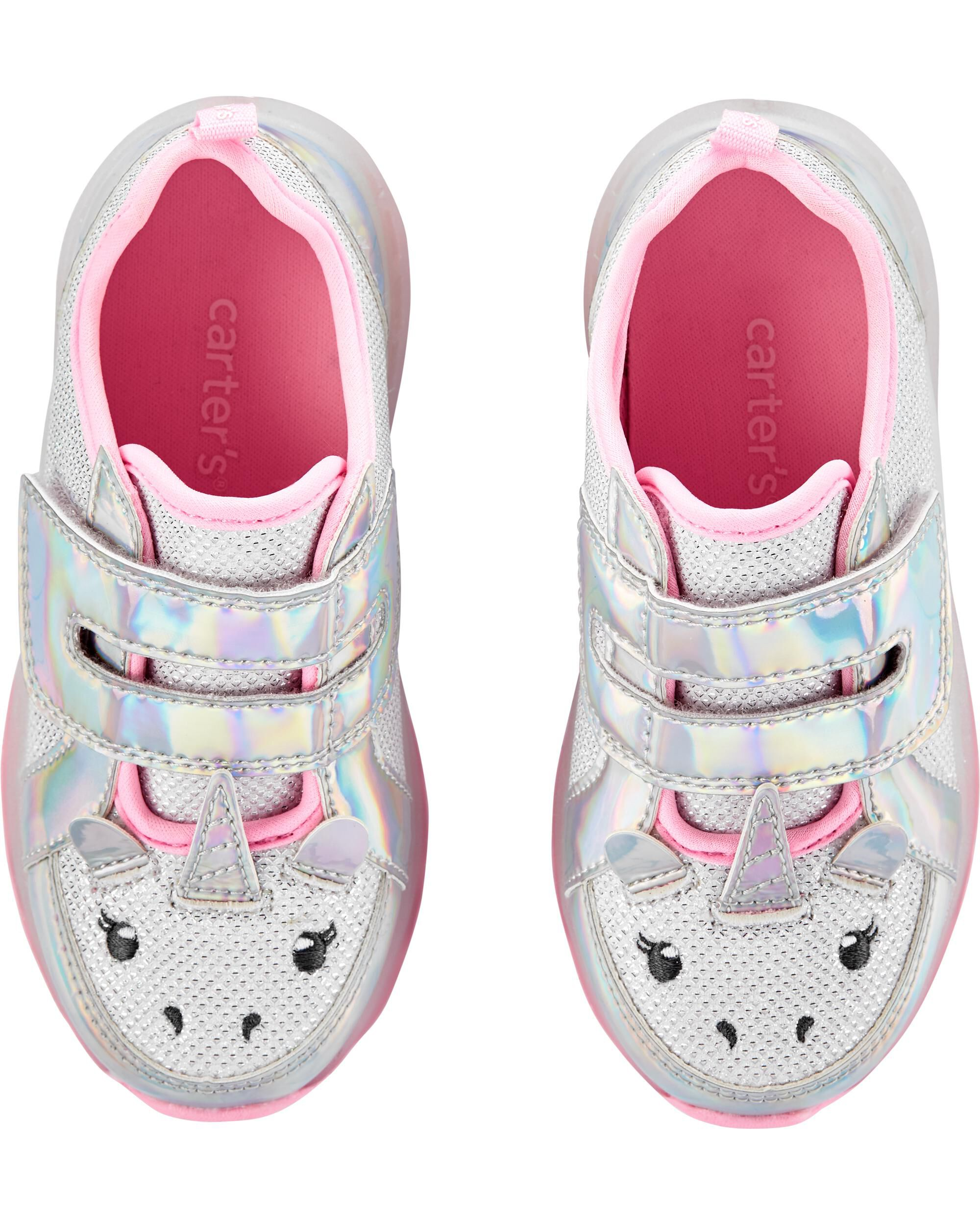 Unicorn Light-Up Sneakers   skiphop