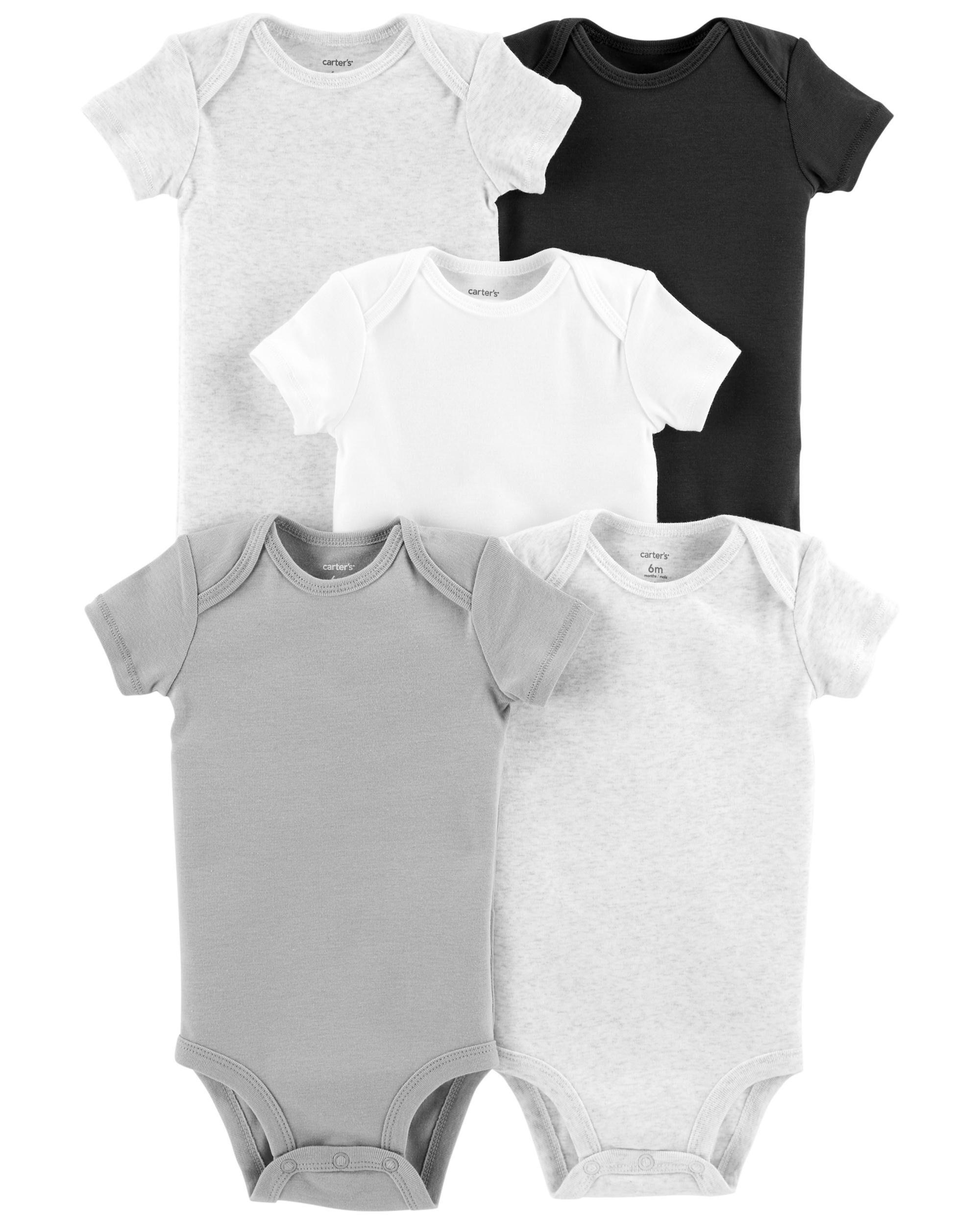 ea42ff57b ... 5-Pack Short-Sleeve Original Bodysuits ...