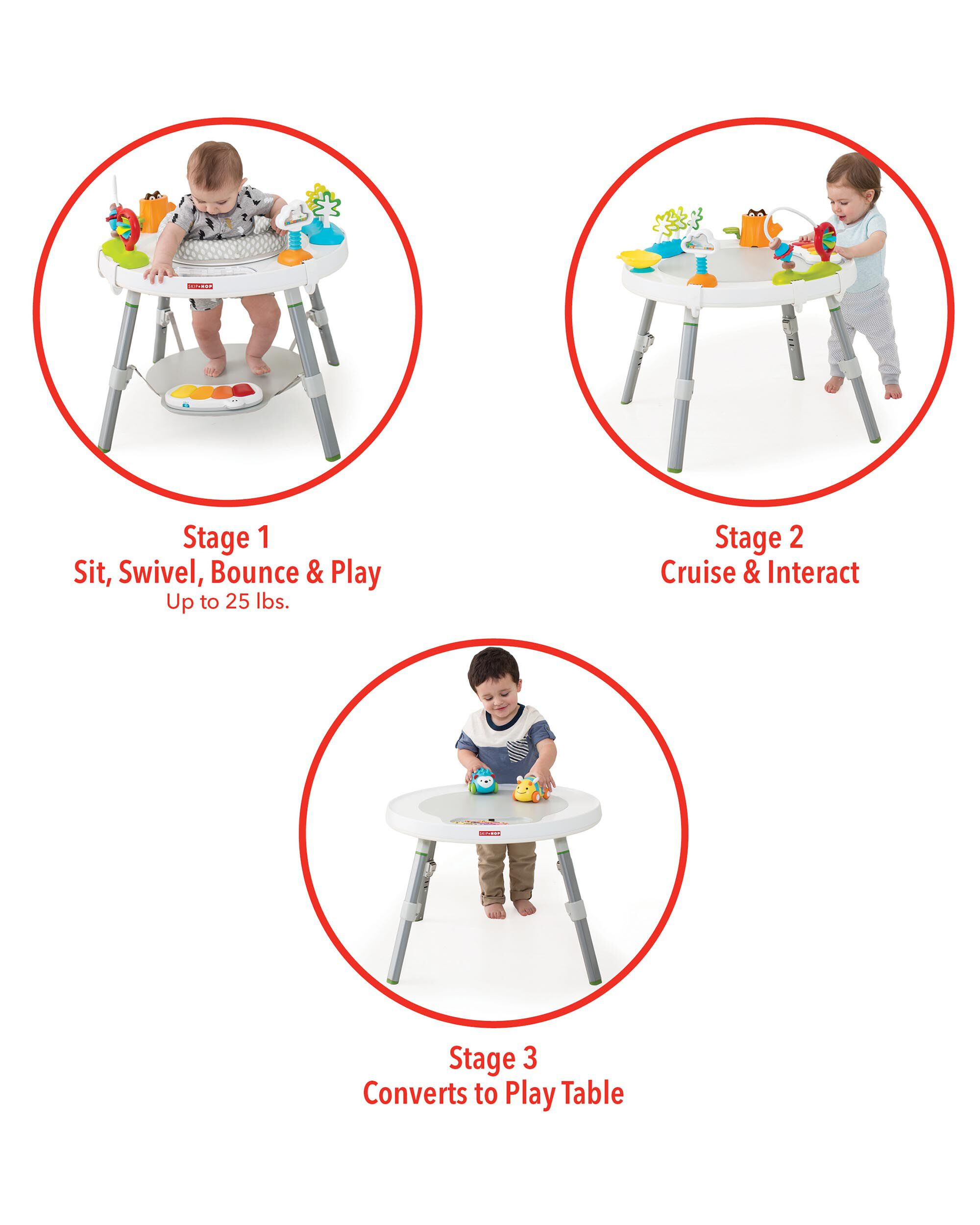 0ab48fa2a Explore   More Baby s View 3-Stage Activity Center