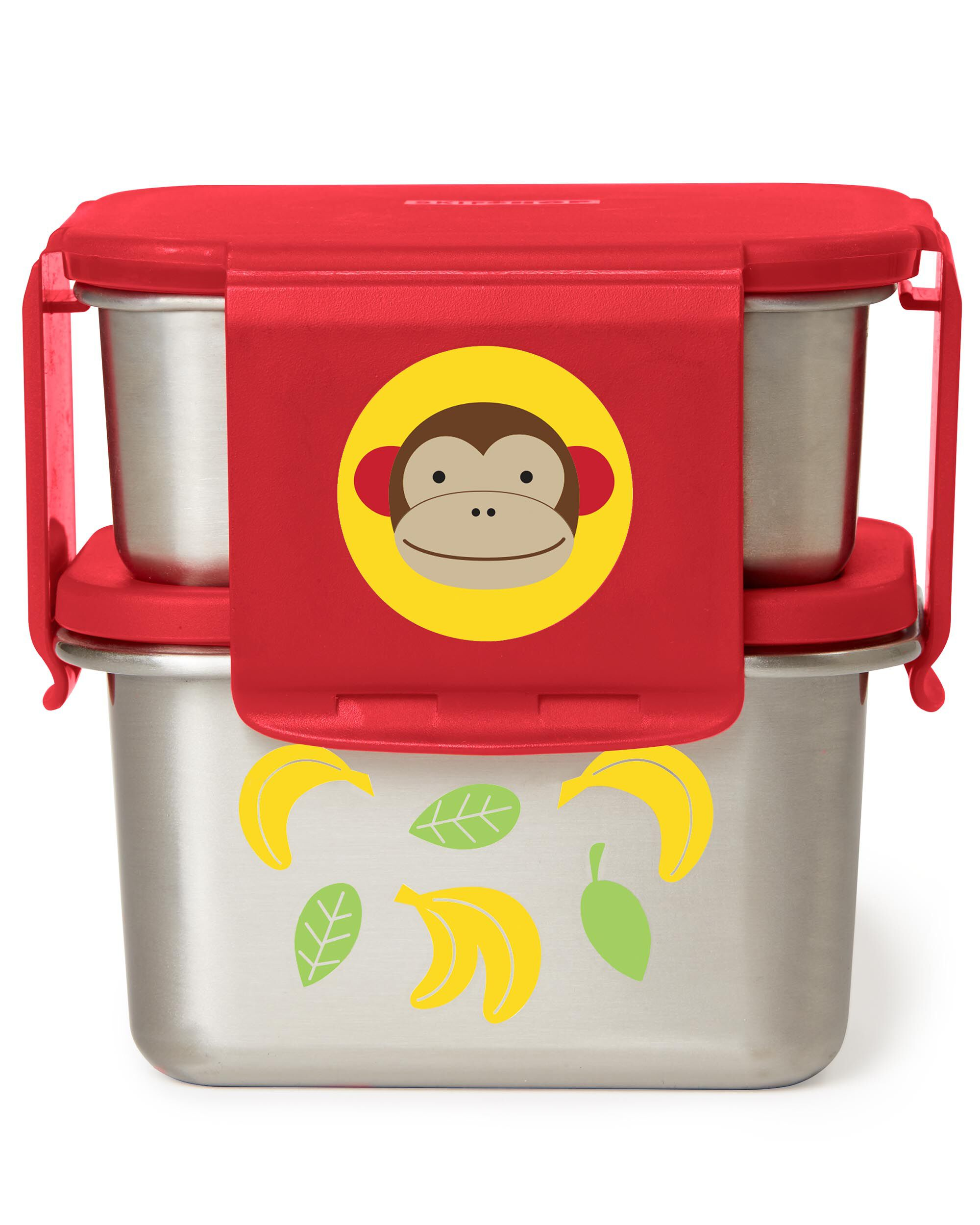 Zoo Stainless Steel Lunch Kit