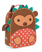 Zoo Lunchie Insulated Kids Lunch Bag, Hedgehog, hi-res