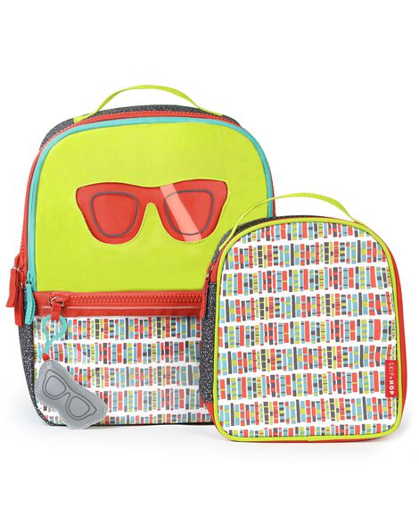 Forget Me Not Backpack & Lunch Bag - Glasses