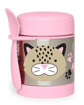 Zoo Insulated Little Kid Food Jar, Leopard, hi-res