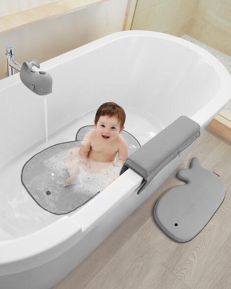 Moby Bathtub Elbow Rest - Grey