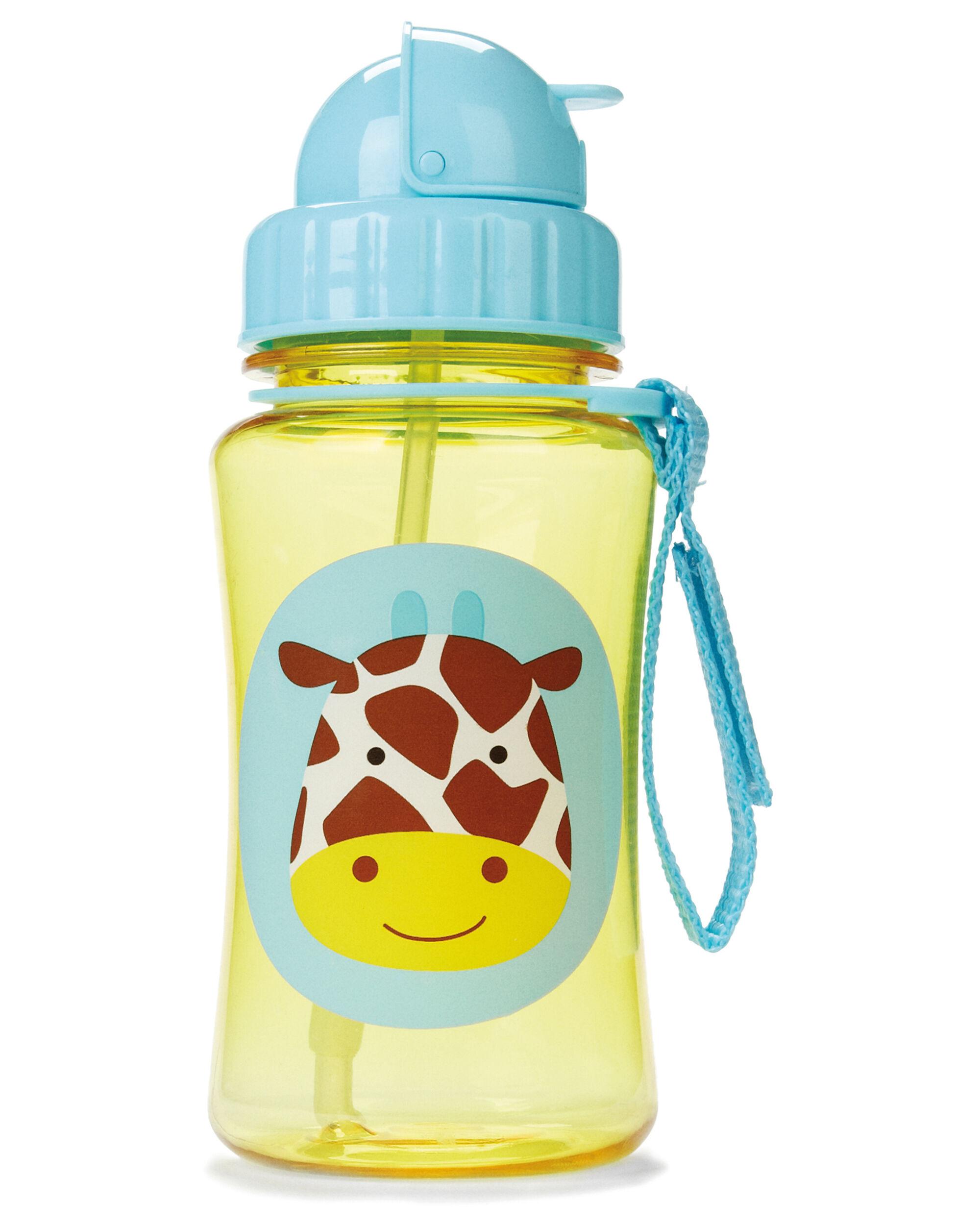 Skip Hop Zoo Straw Bottle Leopard