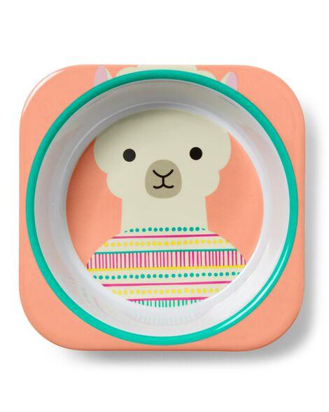 Zoo Melamine plate & bowl set