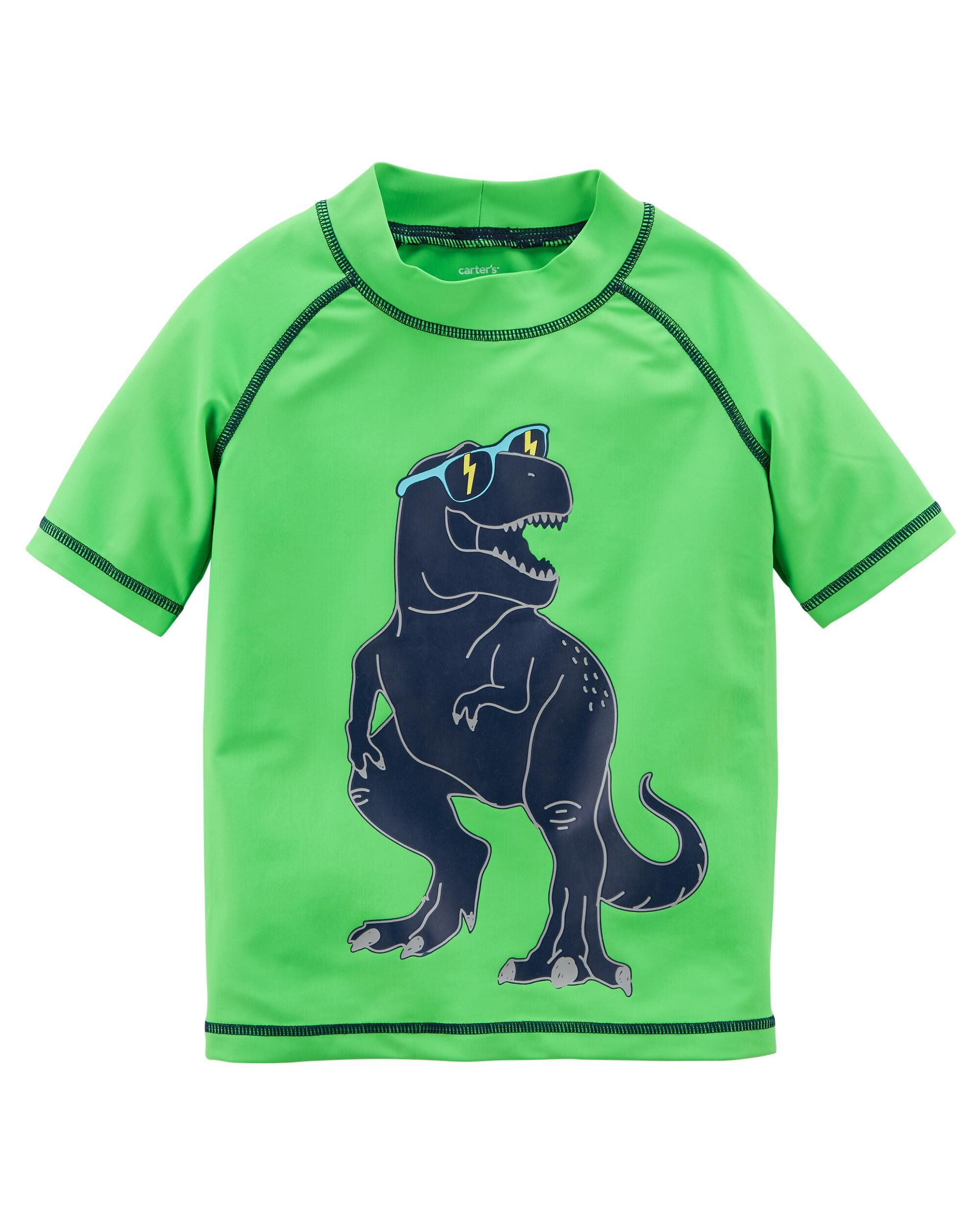 0fe40f8446 Carter's Dinosaur Rashguard. Protect your little one ...