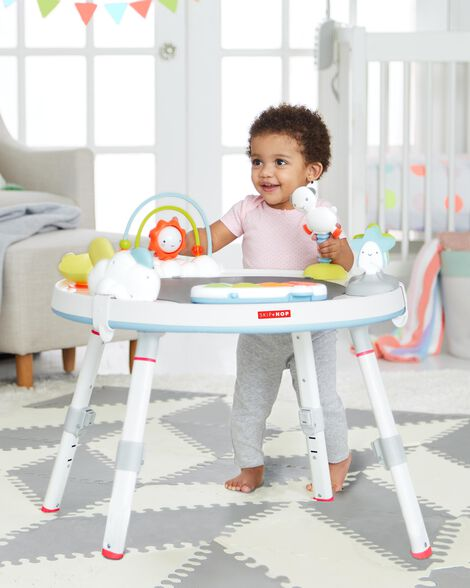 Silver Lining Cloud Baby's View Activity Center