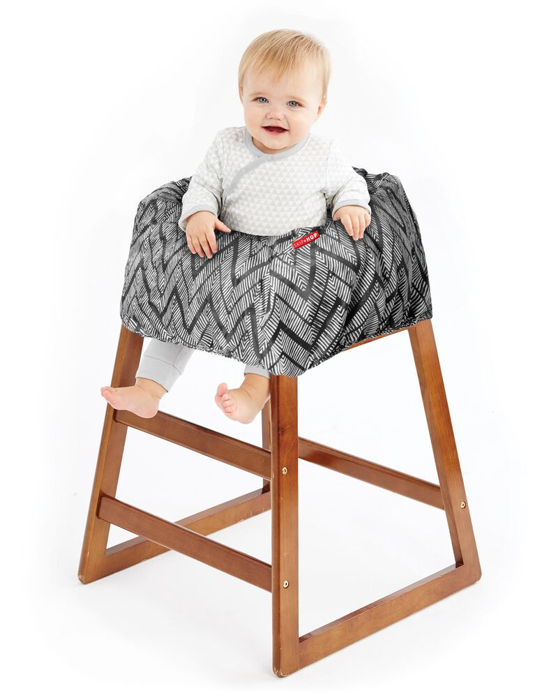 Pleasant Take Cover Shopping Cart Baby High Chair Cover Skiphop Com Pdpeps Interior Chair Design Pdpepsorg