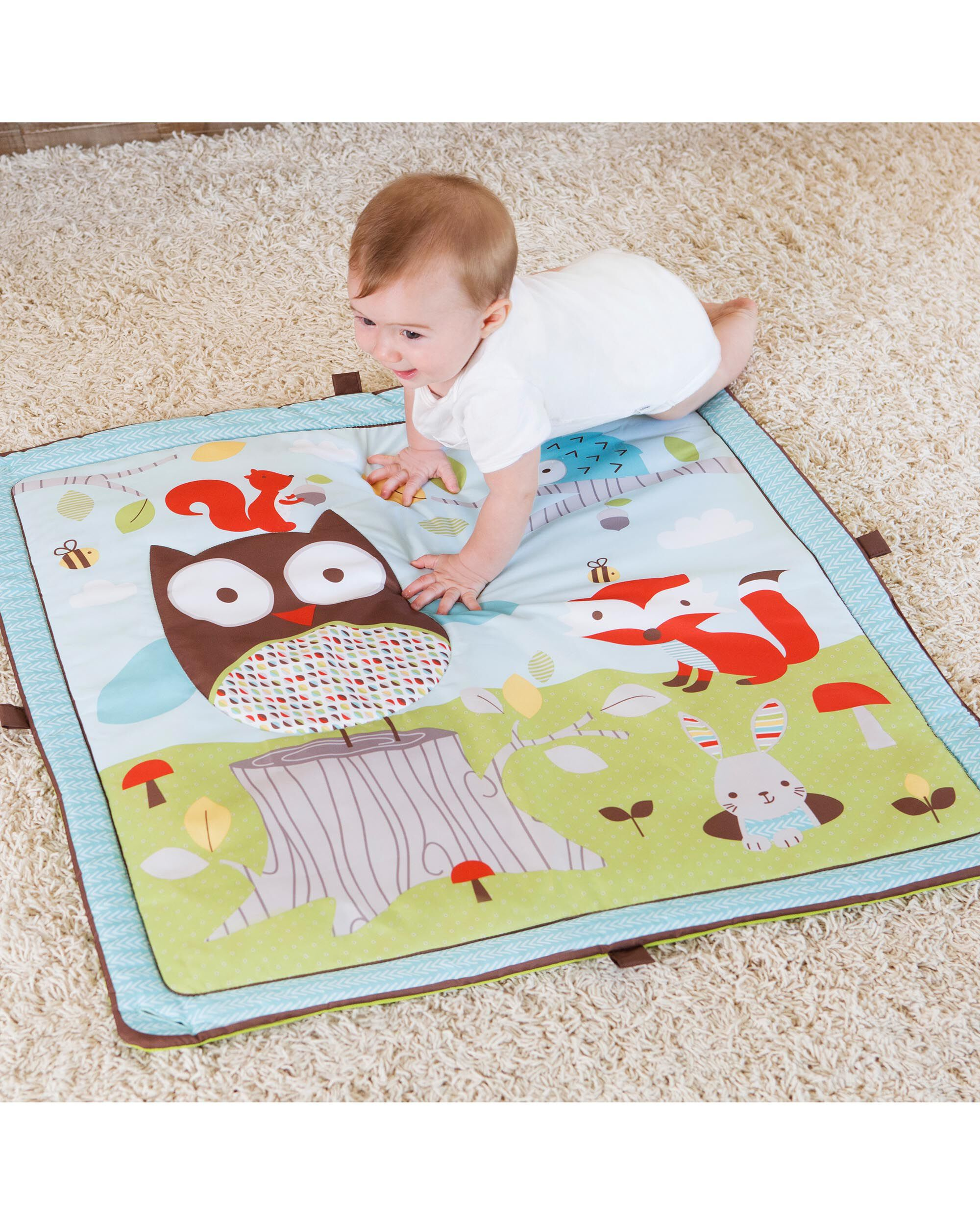 floor amazon com shining baby children thick for organic infant mat cotton un antislip premium dp rugs mats play dyed with babies playmat s