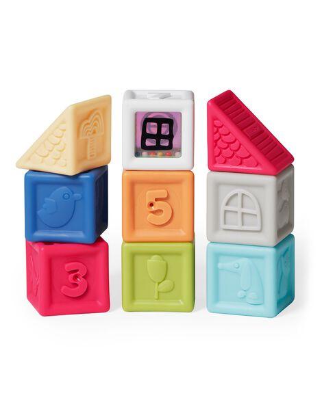 Vibrant Village Squeeze & Squeak Blocks