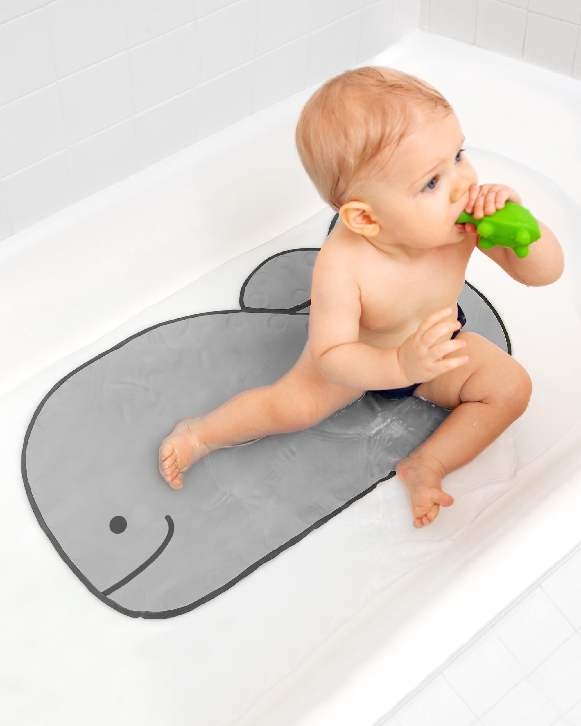 Moby Bath Mat - Grey | Skiphop.com