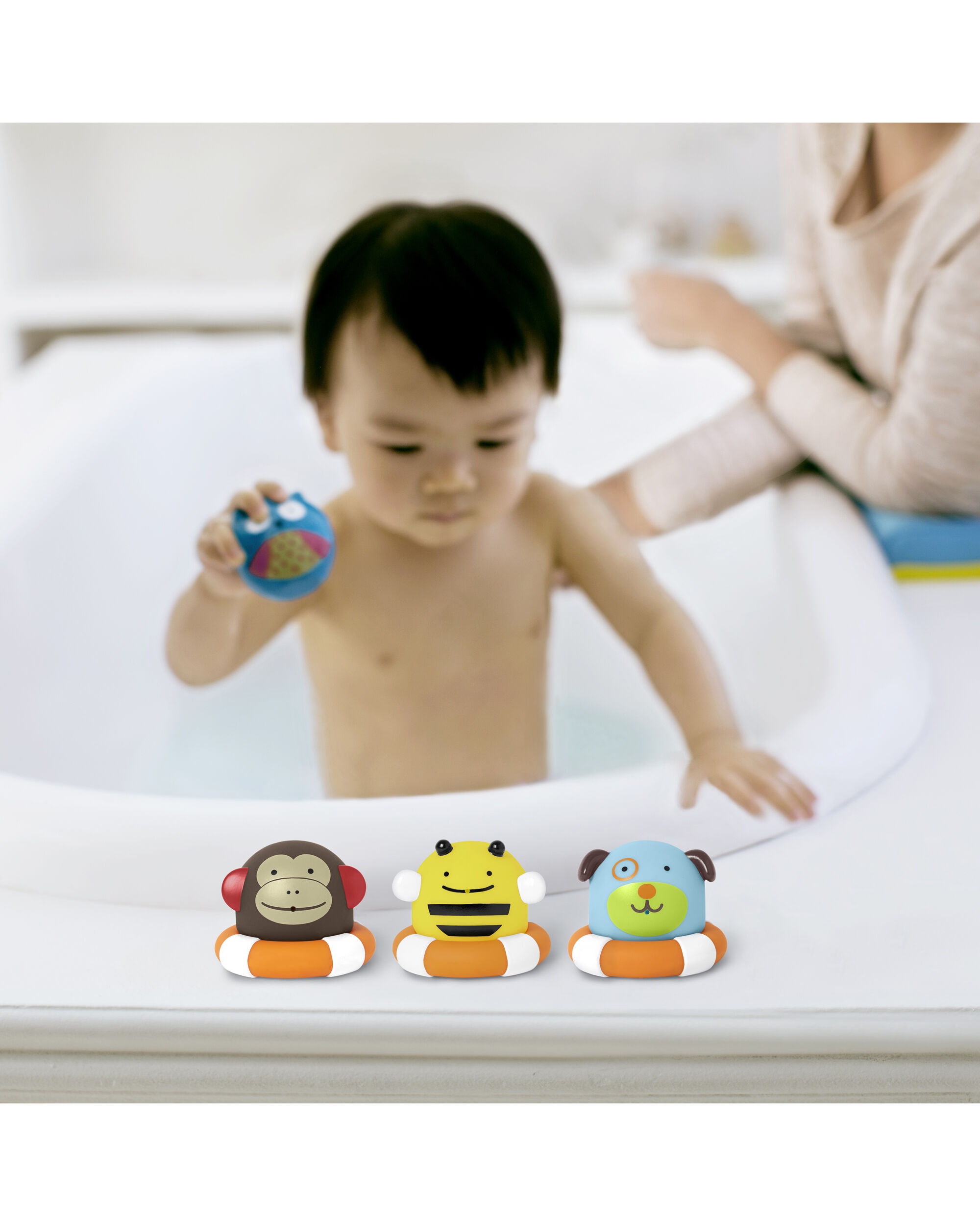 Zoo Bath Toys Squirties | Skiphop.com