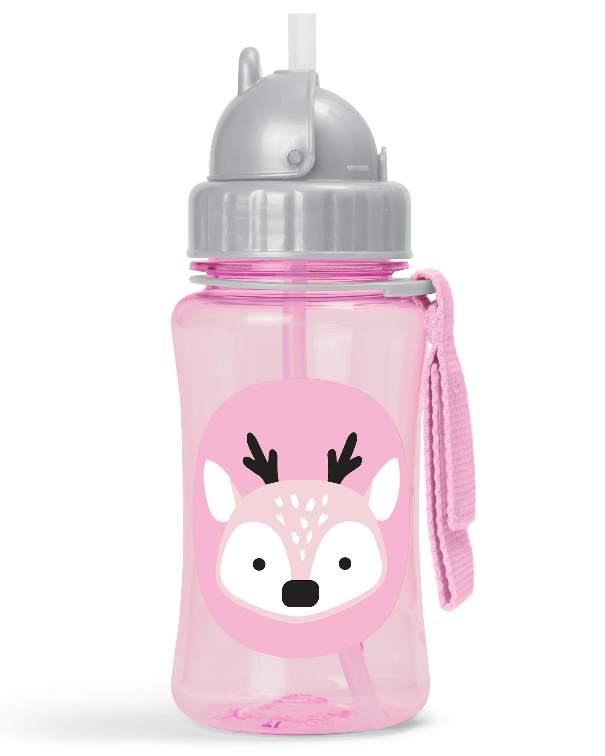 Winter Zoo Straw Bottle