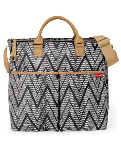 Messenger Diaper Bag with crossbody straps free you up to juggle baby and  more. Duo Special Edition - Zig Zag Zebra fab37294a50fd