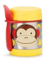 Zoo Insulated Little Kid Food Jar, Monkey, hi-res