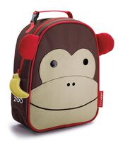 Zoo Lunchie Insulated Kids Lunch Bag, Monkey, hi-res
