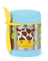 Zoo Insulated Little Kid Food Jar, Giraffe, hi-res