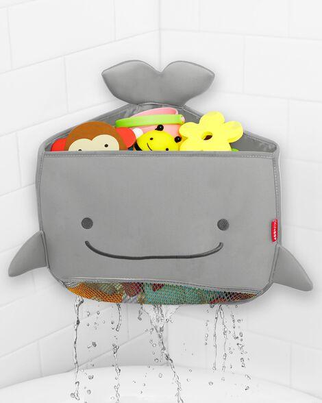 Moby Corner Bath Toy Organizer - Grey
