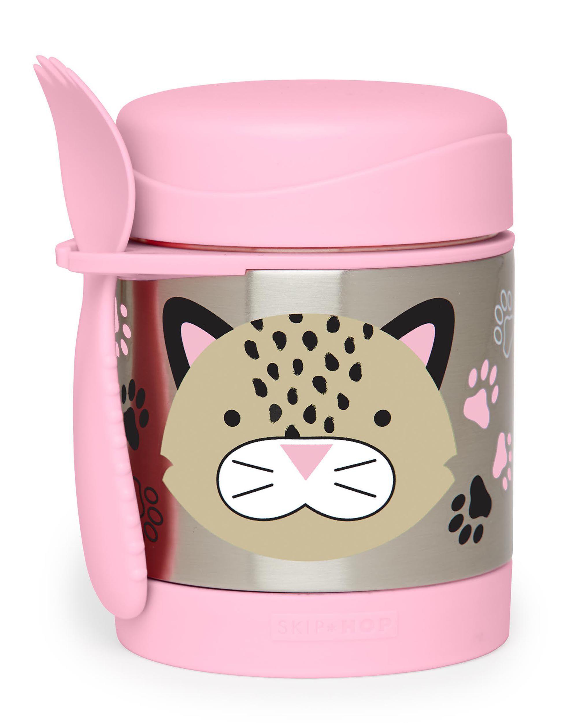 Skip Hop Kids Zoo Insulated Food Jar Dog