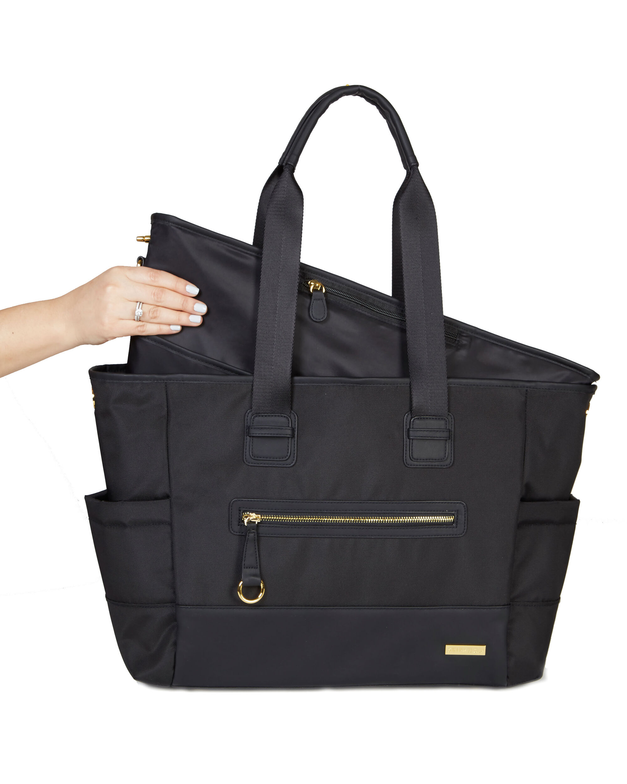 d97c61265457 Chelsea 2-in-1 Downtown Chic Diaper Tote | Skiphop.com