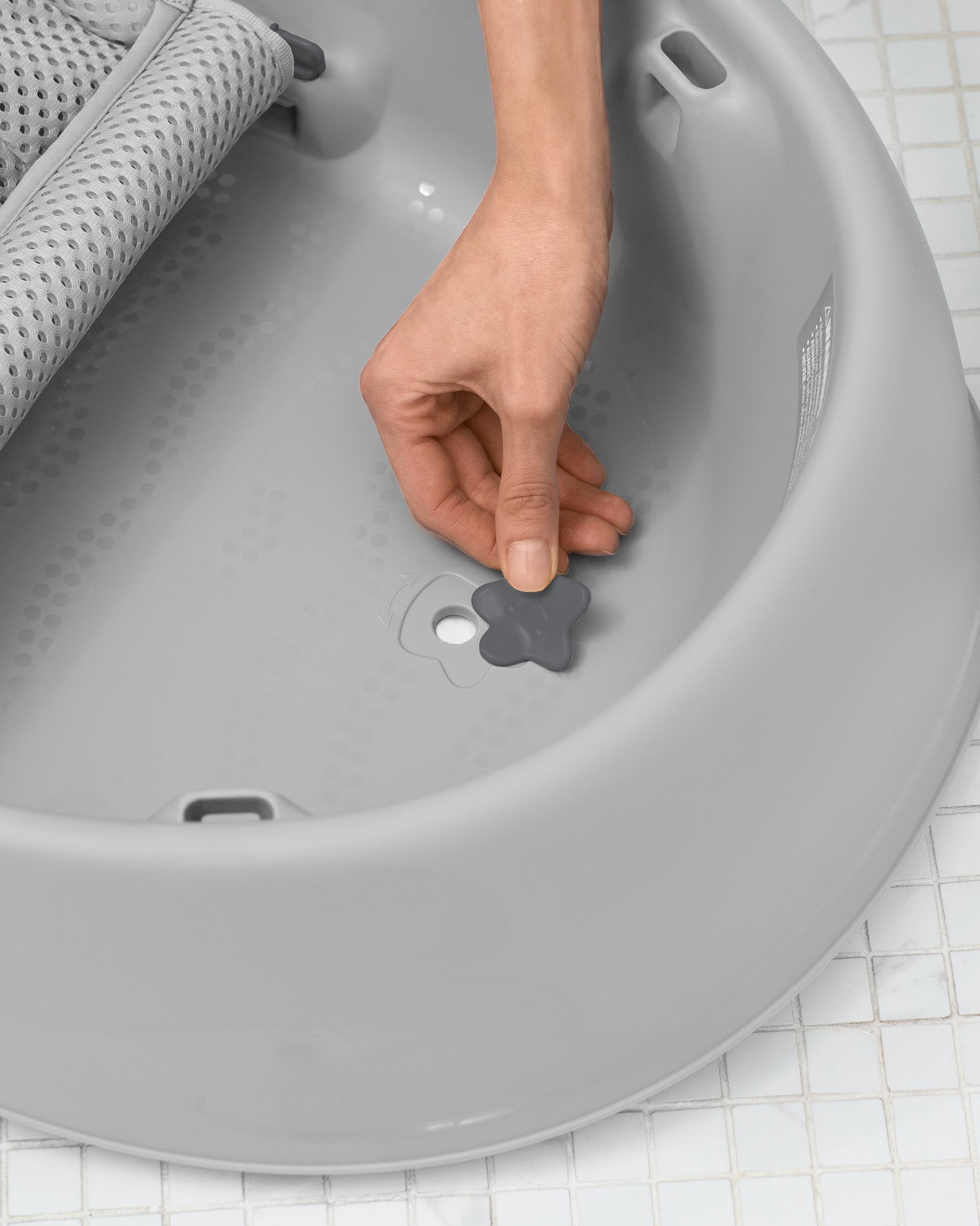 Moby Smart Sling 3-Stage Tub - Grey | Skiphop.com