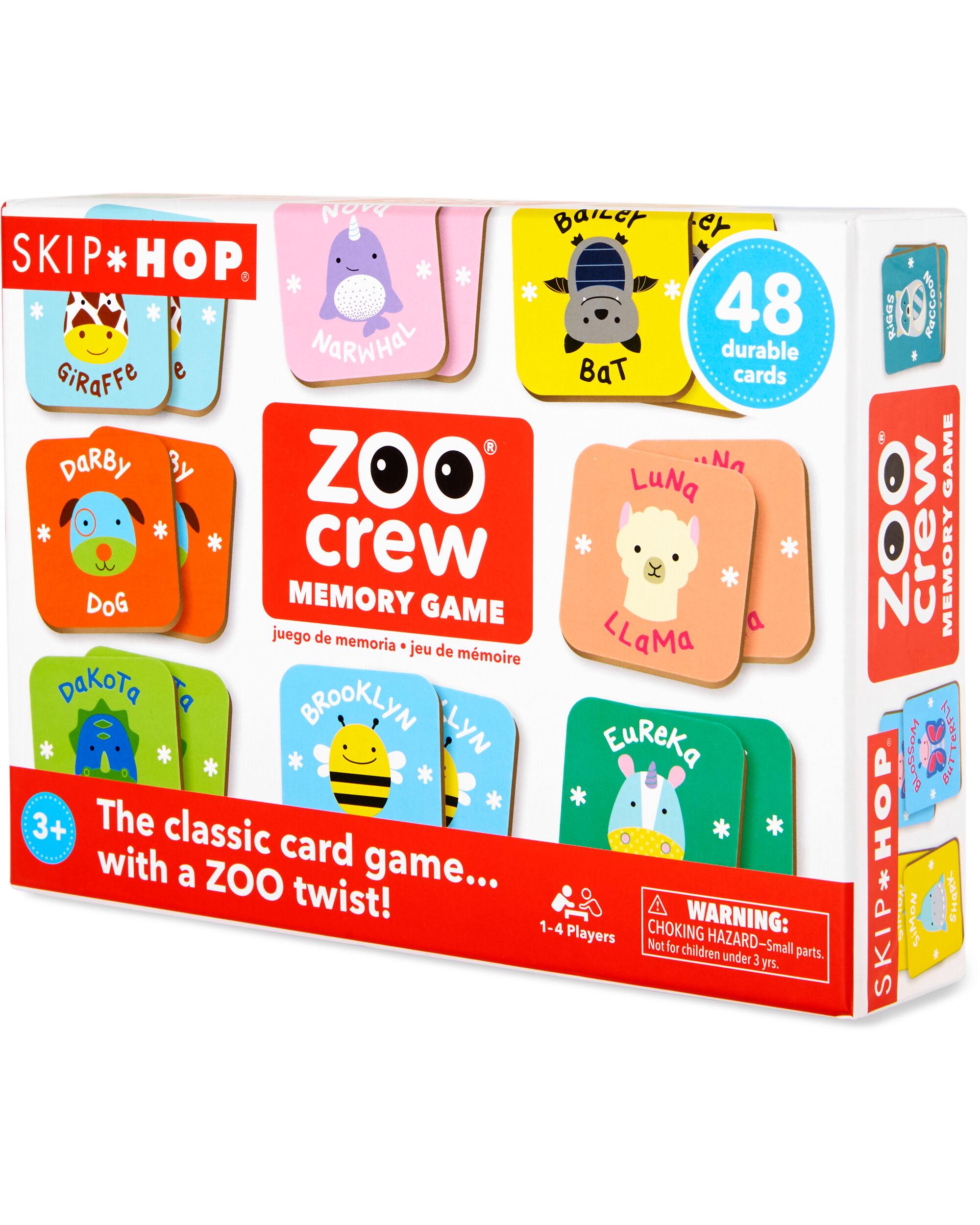 Zoo Crew Memory Game
