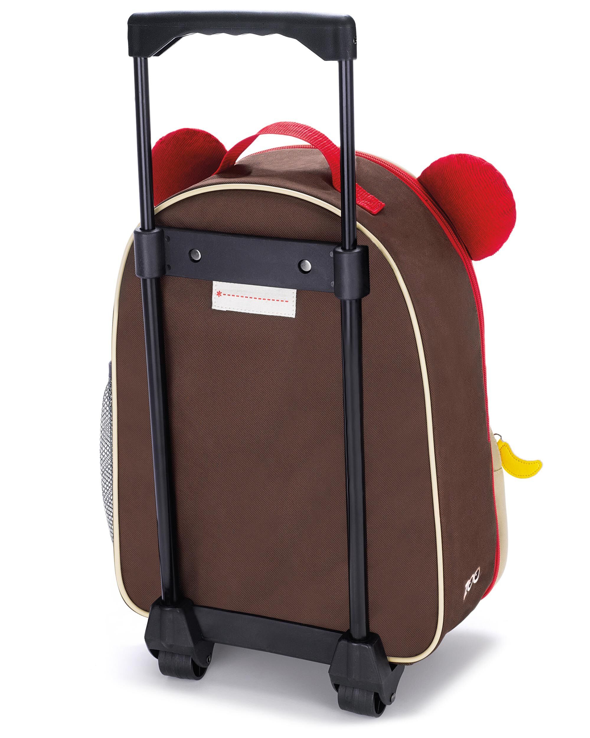 Skip Hop Zoo Kids Butterfly Child Childrens Rolling Luggage Flight Bag