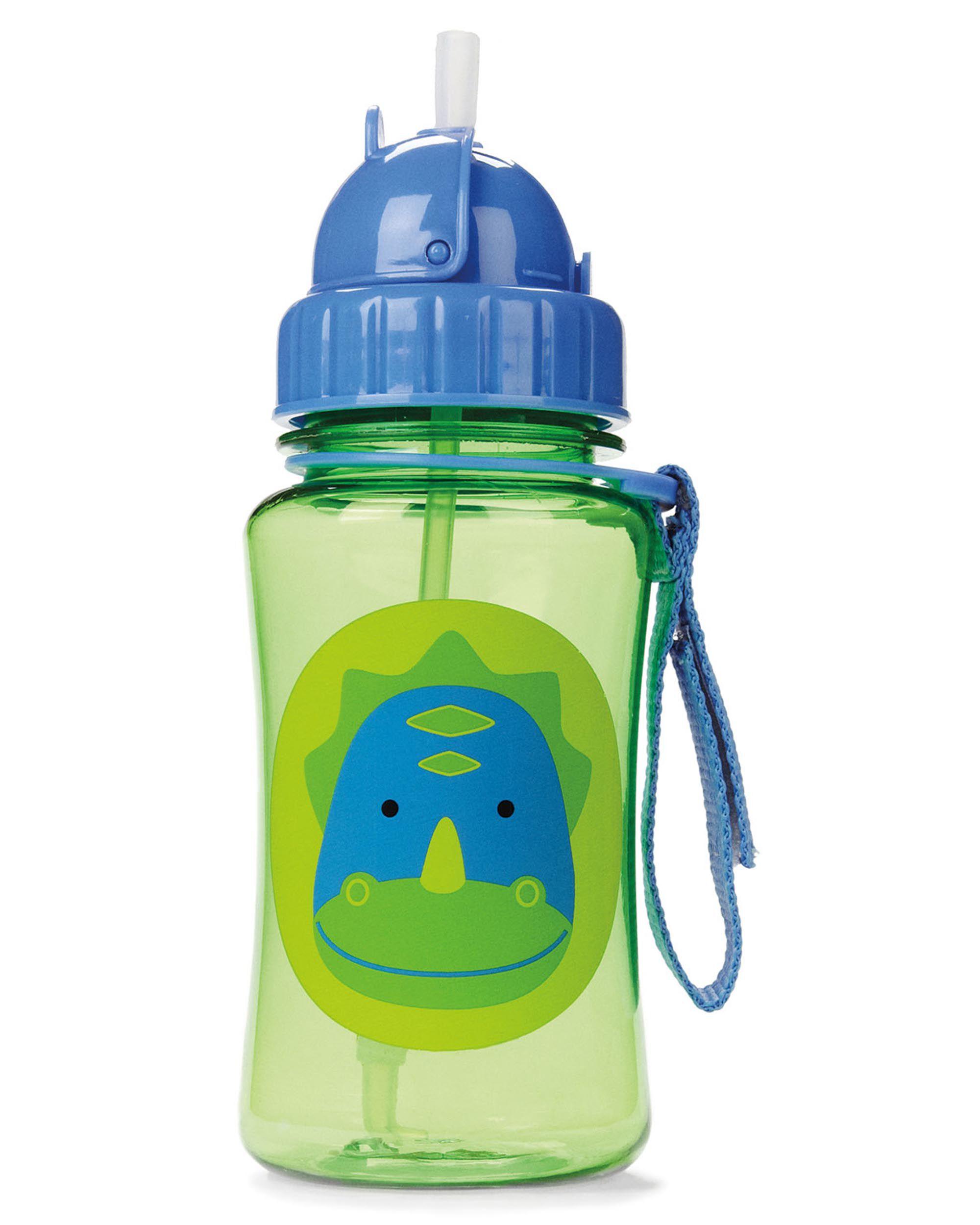 Skip Hop Zoo Straw Bottle Unicorn Kids Straw Drinking Bottle Feeding