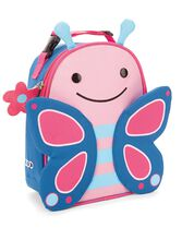 Zoo Lunchie Insulated Kids Lunch Bag, Butterfly, hi-res
