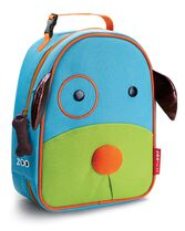 Zoo Lunchie Insulated Kids Lunch Bag, Dog, hi-res