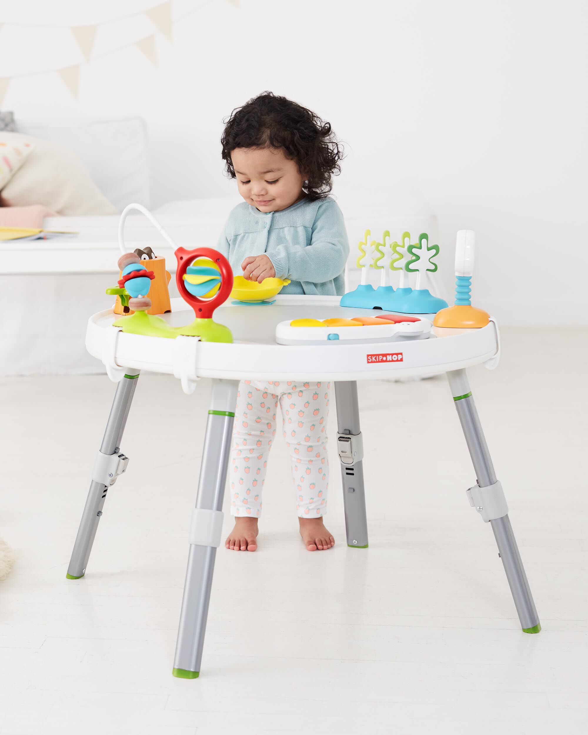 explore & more baby's view 3-stage activity center | skiphop
