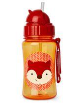 Zoo Straw Bottle, Fox, hi-res