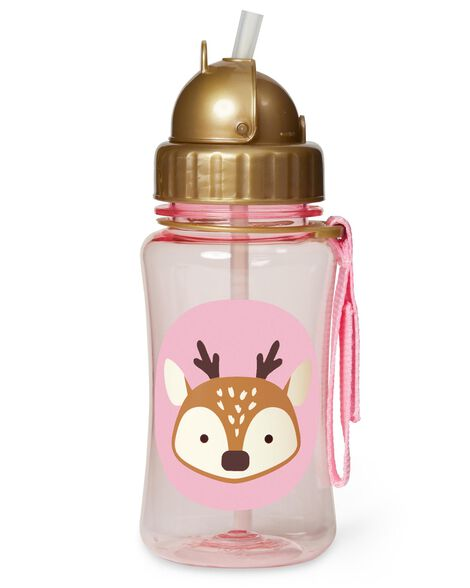 Winter Zoo Straw Bottle