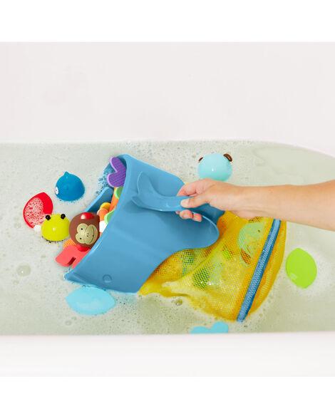 Moby Scoop & Splash Bath Toy Organizer